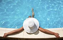 Odmor pored bazena